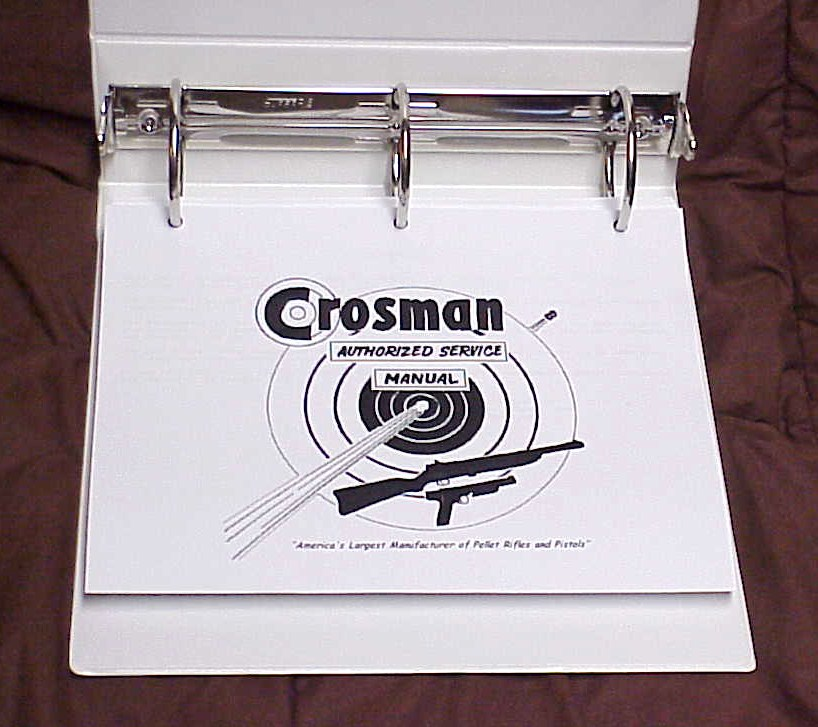 Crosman 130 Manual http://www.mrgunsplace.com/crosman-service-manual-cd.html
