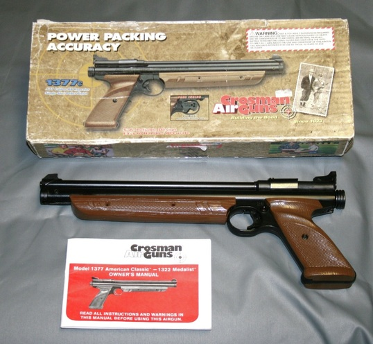 air pistols mrguns place rh mrgunsplace com Crosman 1377 American Classic Manual Owner's Manual Crosman 1377